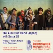 BMF2017 Instagram - Oki Ainu Dub Band